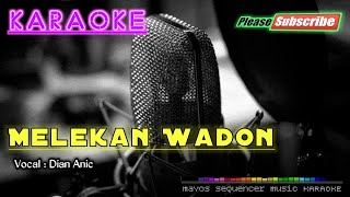 Melekan Wadon -Dian Anic- KARAOKE