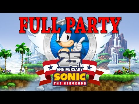 FULL Sonic's 25th Anniversary Party Experience!