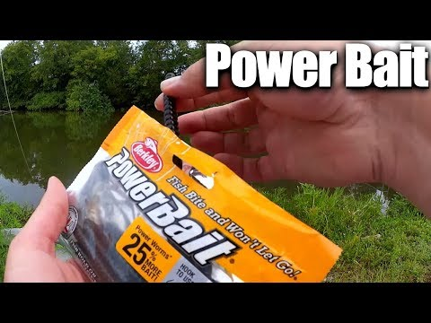 Bank Fishing for Bass with Power Bait Power Worms – Texas Rig