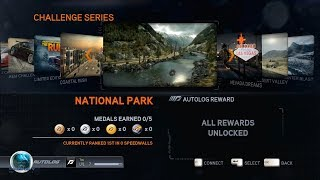 Need For Speed: The Run(2011): Challenge Series: National Park