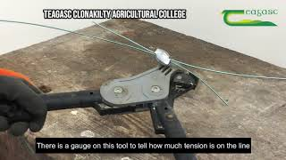 Gripple Wire Tensioning Tool: Permanent Fencing Skills