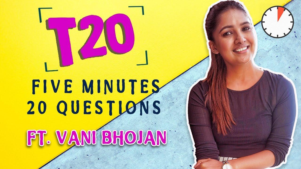 Download Vani Bhojan takes the T20 Challenge   Oh My Kadavule