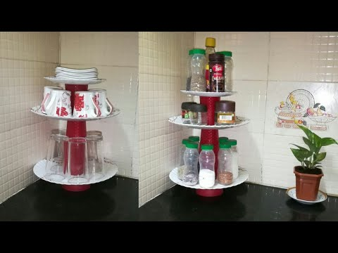 DIY Multipurpose Kitchen U0026 Bedroom Organizer | Anupama Jha