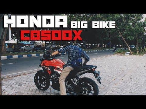 Cobain Honda BIG BIKE!! - Honda CB500X Indonesia - The Test Ride #6