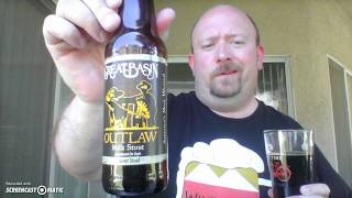 Great Basin Outlaw Milk Stout 12 oz bottle
