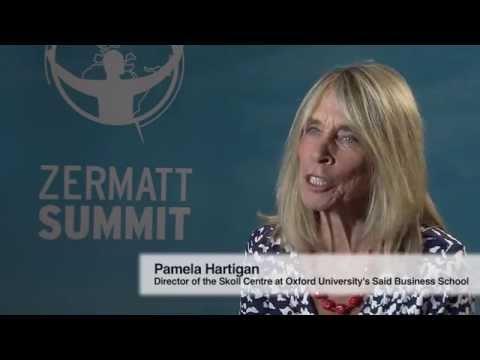 Interview Pamela Hartigan, Skoll Center, -  Zermatt Summit 2014