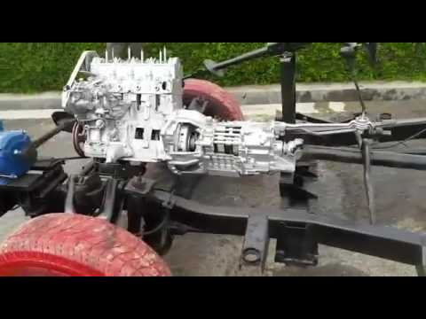 Best project of Mechanical Engineering by Ambalika Institute Students