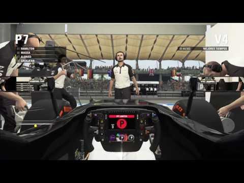 Gran Premio de Malasia PS 4 entrenamientos libres y clasificación con el Mclaren de Alonso.F1 2015