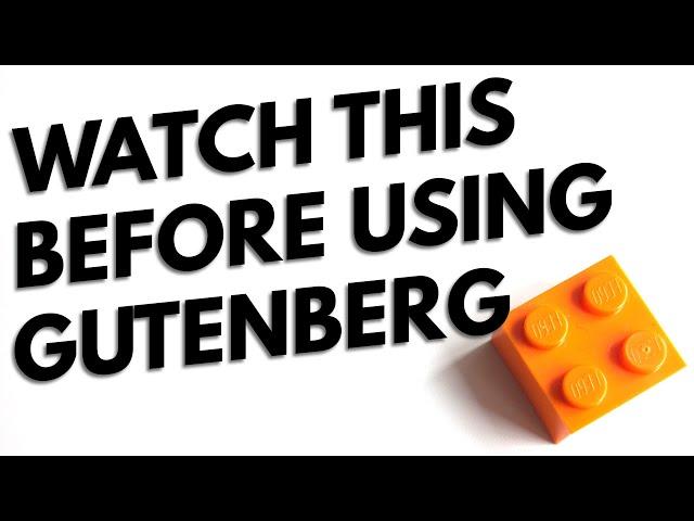 5 Tips that make Gutenberg easier for WordPress 🤗