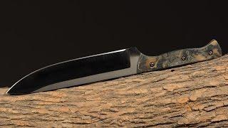 Making a Camp Knife, Pt. 1 - Prepper, Camping, Survival Knife