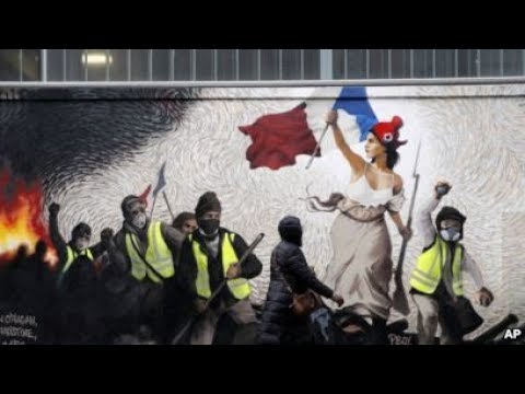 BREAKING I LIVE from France I 13th week of Yellow Vest protests and demonstrations in Paris I HD I