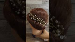 Купить веточка в прическу. Свадебная веточка для волос Киев, Украина