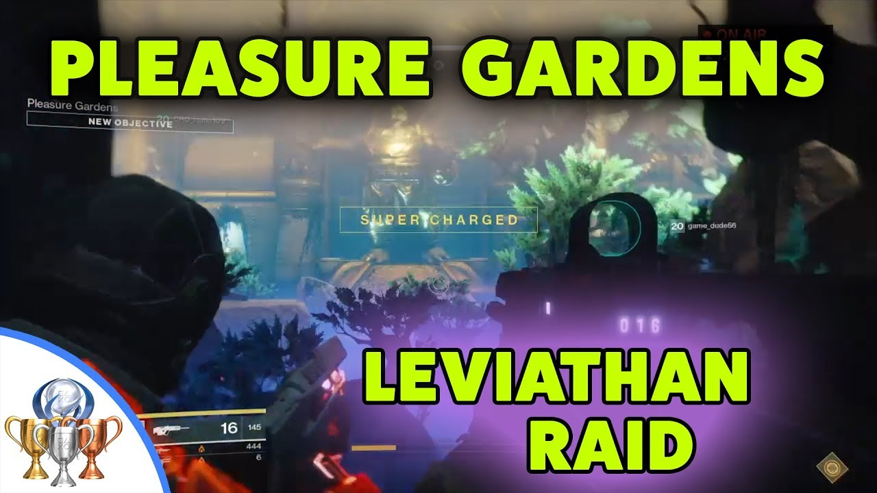 Destiny 2 Leviathan Pleasure Gardens Raid Guide Read Description For Detailed Instructions