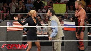 Zeb Colter and Lana participate in a United States-Russia Détente: Raw, July 14, 2014