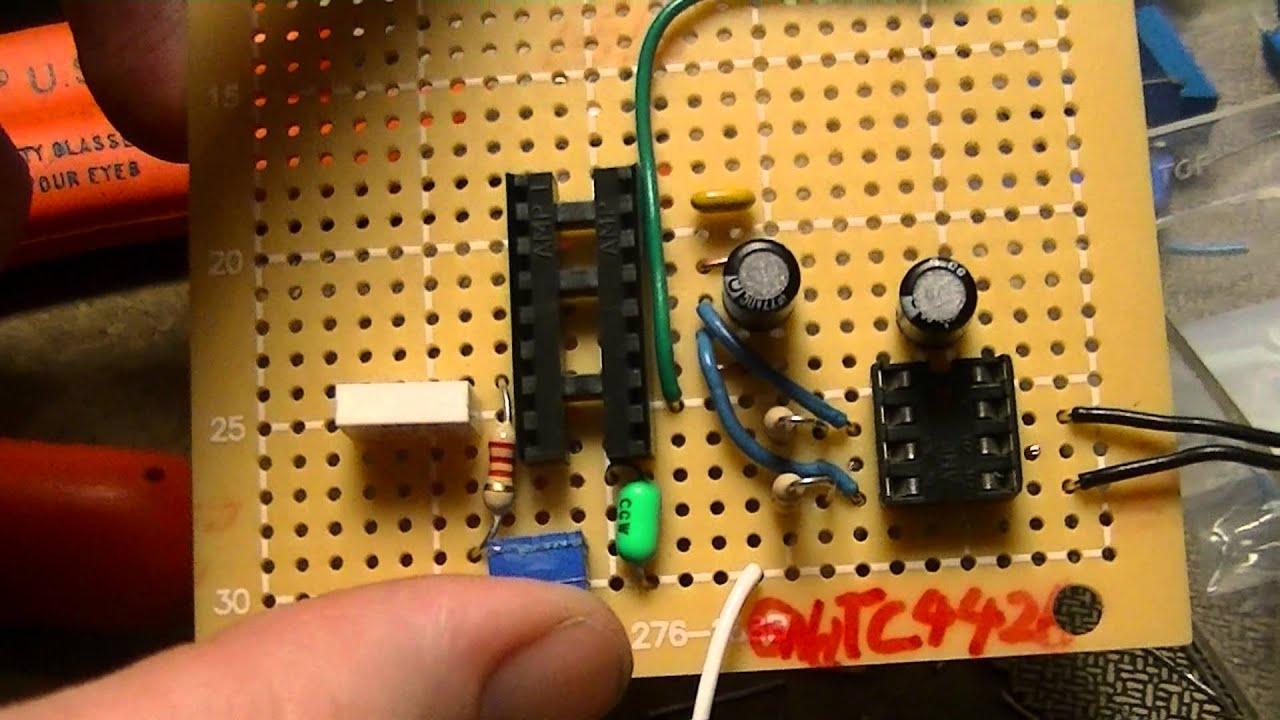 DIY MPPT inverter control board design and SG3524 testing  YouTube