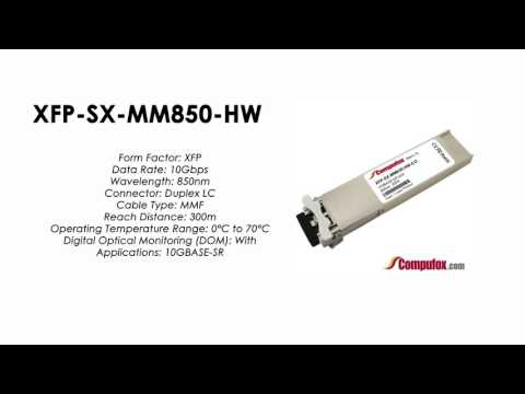 Huawei Compatible 10GBASE-SR XFP 850nm 300m MMF transceiver XFP-SX-MM850-HW
