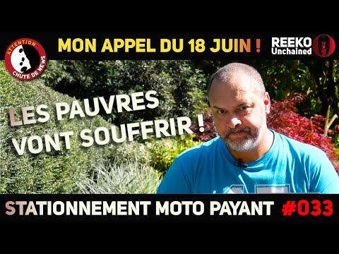 STATIONNEMENT MOTO PAYANT PARIS 2022 ! 🔴REEKO Unchained