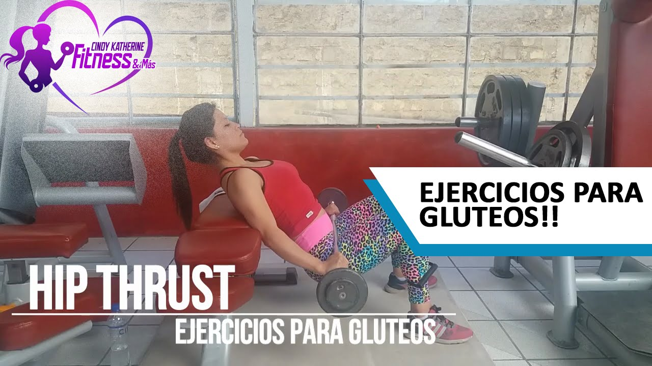 Ejercicio gluteo hip thrust