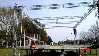 Truss Systems Disco eventos tarimas Rtruss