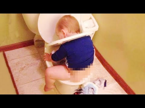 Best Naughty Babies and Kids Doing Funny Things #2