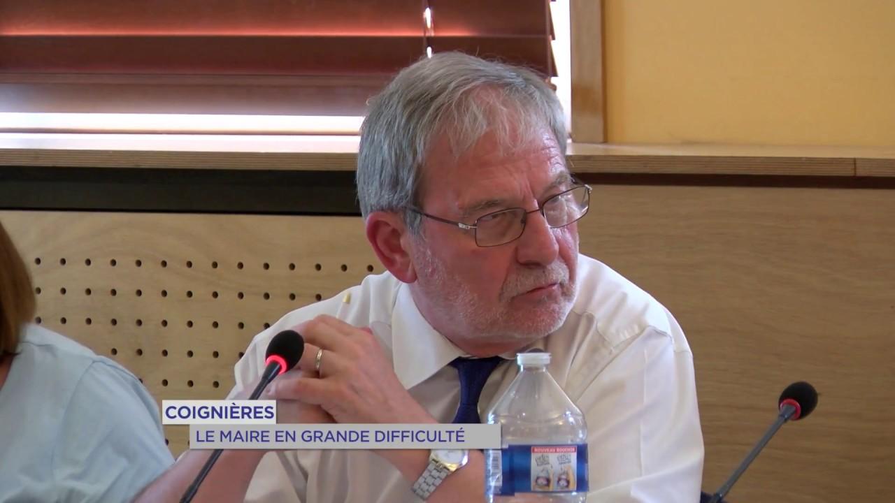 Coignières : le maire en grande difficulté
