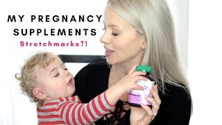 How I Avoid Stretch Marks During Pregnancy & My Pregnancy Vitamins + Supplements!