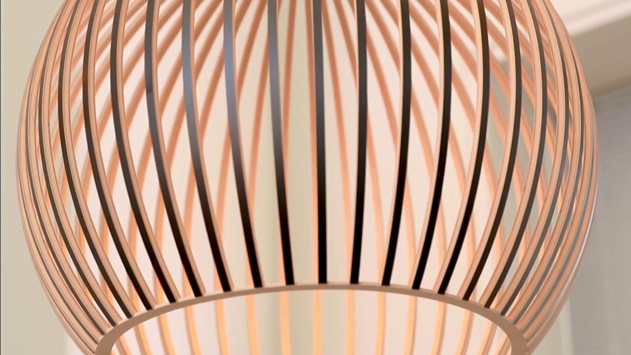 Lampes En Bois Design Secto L Artisanat Innovant Youtube