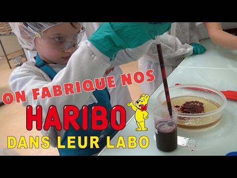 On fabrique NOS BONBONS HARIBO dans LEUR laboratoire ! :) - Un rêve d