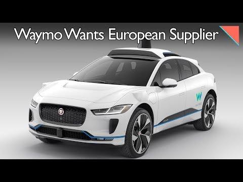 Waymo Eyes Europe, Autonomous Platooning Test - Autoline Daily 2385