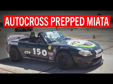 Under The Hood: One Awesome Autocross Miata