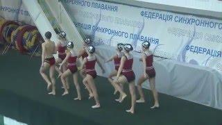 Чемпіонат України 2016. Групи. Довільна програма. Одеська область