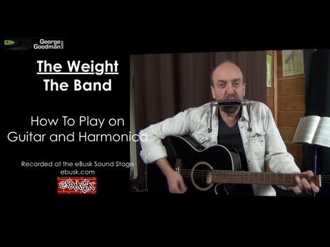 The Weight lesson on guitar and harmonica