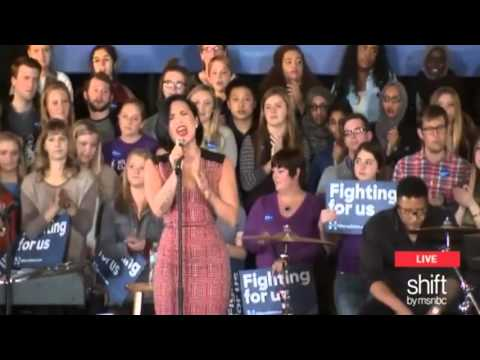 Demi Lovato - Yes (Live at Hillary Clinton Campaigns 2016)