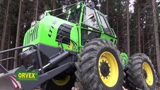 Lesný traktor LT100