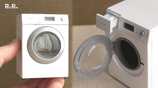 【Miniature】Washing Machine made from scratch | 1:12 Scale
