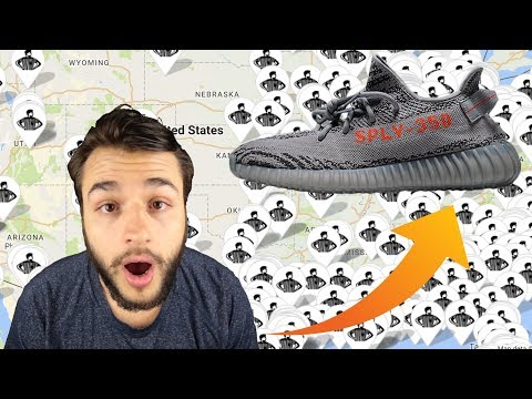 "The ""Beluga 2.0 Yeezy 350 V2"" Crazy Stock Numbers! Easiest Yeezy To Cop EVER!!!!"