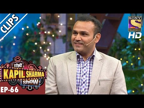 Virender Sehwag Visits The Kapil Sharma Show - The Kapil Sharma Show – 10th Dec 2016