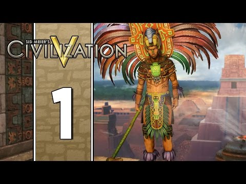 Liberty in Palenque - Let's Play Civilization V: Brave New World - The Maya - Part 1