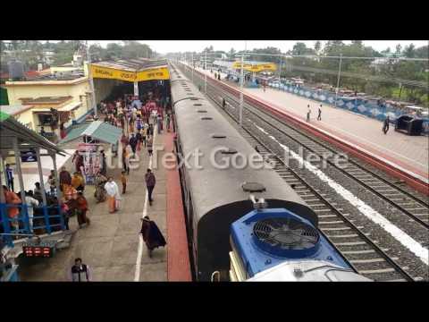 INDIAN RAILWAYS, Towards Barsoi Junction, at Station Raiganj.