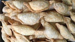 Kajjikayalu with Putnala Pappu - Traditional Sweet In India |  Andhra Recipes
