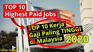 Highest Paid Jobs in Malaysia 2020 | TOP 10