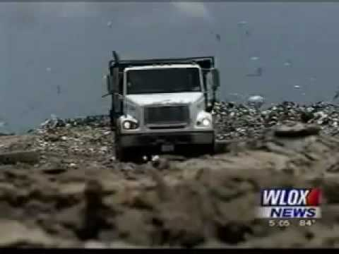 BP oil dumps toxic waste into Mississippi landfills and board/residents say NO!