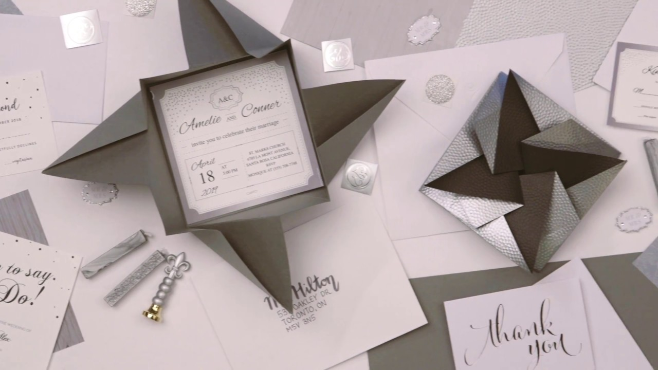 diy origami envelopes for your wedding youtube