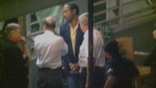1994: O.J. Simpson handcuffed after chase