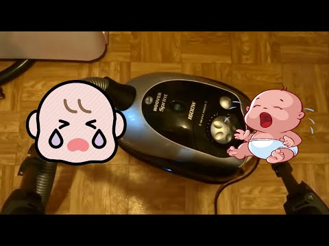 Vacuum cleaner sound for babies, white noise (12 hours)