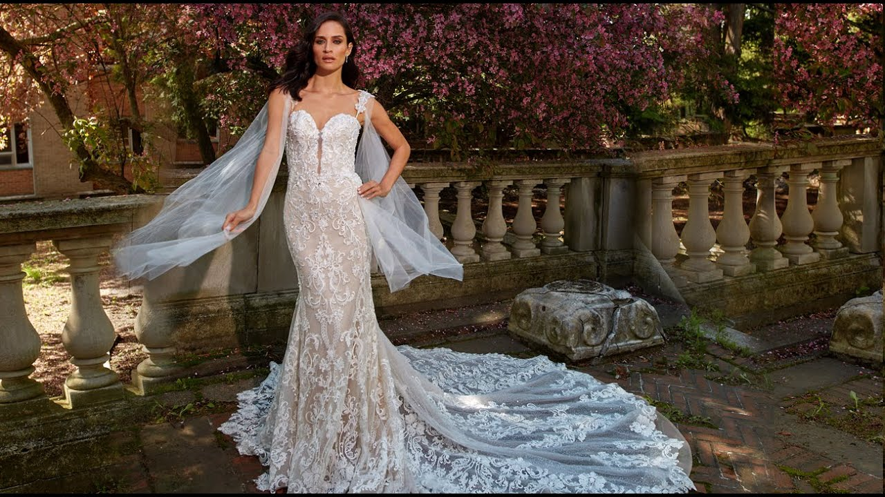 Eve Of Milady Fall 2019 Wedding Dresses Collection Youtube