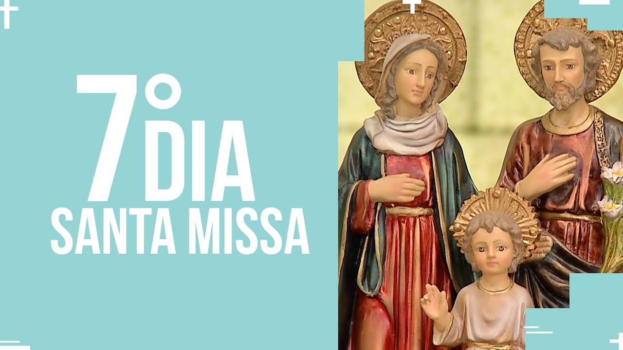 Santa Missa  - 7º dia do mês da Sagrada Família  | PADRE REGINALDO MANZOTTI