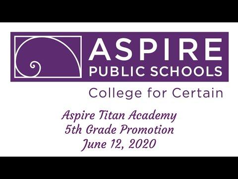2020 Aspire Titan Academy Promotion