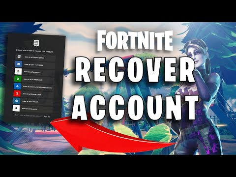 How To Recover Your Epic Games Account! 2020 (Fortnite)