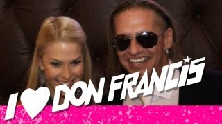 DON FRANCIS - @ GERMAN DJ AWARD / 30 JAHRE BVD GALA